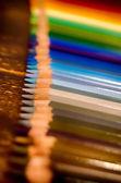 Pencil crayon color pen school — Stock Photo