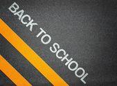Back to School Text Writing — Stockfoto
