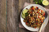 Rice with red beans — Stock Photo