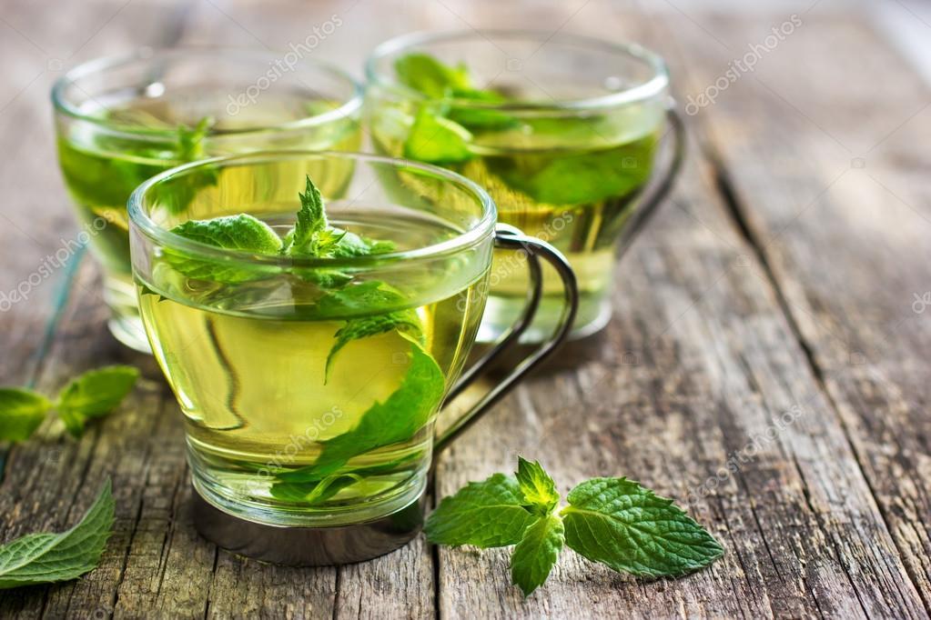 Для чего полезна чай из мяты