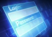 Login and Password — Stock Photo