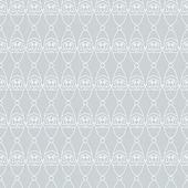 Santa seamless gray. — Stock Vector