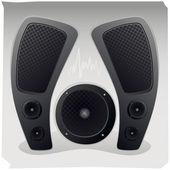 Sound luidsprekers — Stockvector
