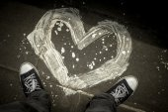 Love painting — Stock Photo