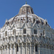 Baptistery in the Piazza dei Miracoli in Pisa — Stock Photo #60754691