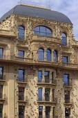 Klassisk byggnad i centrum av Barcelona — Stockfoto