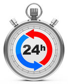 24 saat — Stok fotoğraf