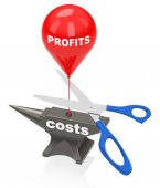 Cut costs — Stock Photo