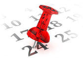 Kalendarz — Zdjęcie stockowe