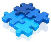 The puzzle — Stock Photo