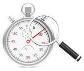 Time analysis — Stock Photo