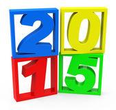 Jahr 2015 — Stockfoto