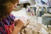 Pottery artist — Foto de Stock