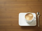 Espresso on the table — Stock Photo