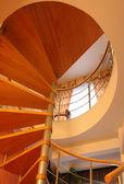 Döner merdiven — Stok fotoğraf