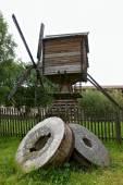 Mill in Kirillo-Belozersky monastery, Vologda region, Russia — Stock Photo