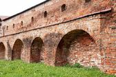 Ancient fort wall — Foto Stock
