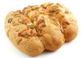 Loaf of fresh corn bread — Stock Photo