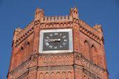 City Clock Tower in Yelets, Lipetsk region, Russia — Stock Photo