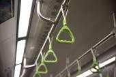 Metro handrail — Foto de Stock
