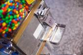 Coin operated candy — Stock Photo