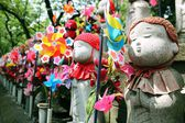 Jizo Statues — Stock Photo