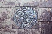 Steel Plate, Ueno Park — Stock Photo
