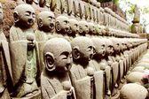 Kamakura Hasedera Sculptures  — Stock Photo