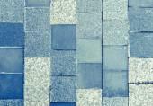 Light blue marble tiles texture — Stock Photo