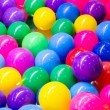 Colorful plastic balls for background — Stock Photo #78418518