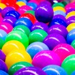 Colorful plastic balls for background — Stock Photo #78419752