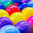 Colorful plastic balls for background — Stock Photo #78419830