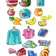 Clothing vector — Stock Vector #56619355