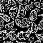Paisley ornament pattern — Vector de stock