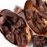 Raw cocoa beans — Stock Photo #56815603