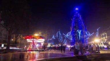 Shiny Christmas Tree — Stock Video