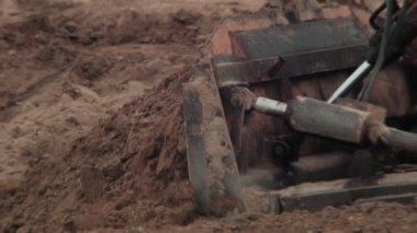 Bulldozer Quarrying — Vídeo stock