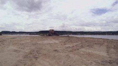 Bulldozer Quarrying — ストックビデオ