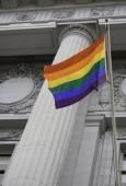 LGBT pride flag — Stock Photo