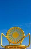 Yellow Chair — Stock Photo