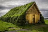 Turf House — Stock Photo