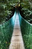 Scary suspension bridge — Stock Photo
