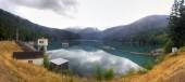 Lake MIlls Panorama — Zdjęcie stockowe