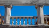 Greek Balcony — Stock Photo