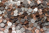 American Coins — Stock Photo