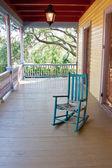 Empty rocking chair — Stock Photo