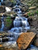 Glacier Park Waterfall — Foto de Stock