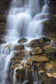 Glacier Park Waterfall — Zdjęcie stockowe