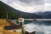Lake mills — Zdjęcie stockowe
