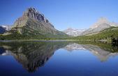 Swiftcurrent Lake — Stock Photo